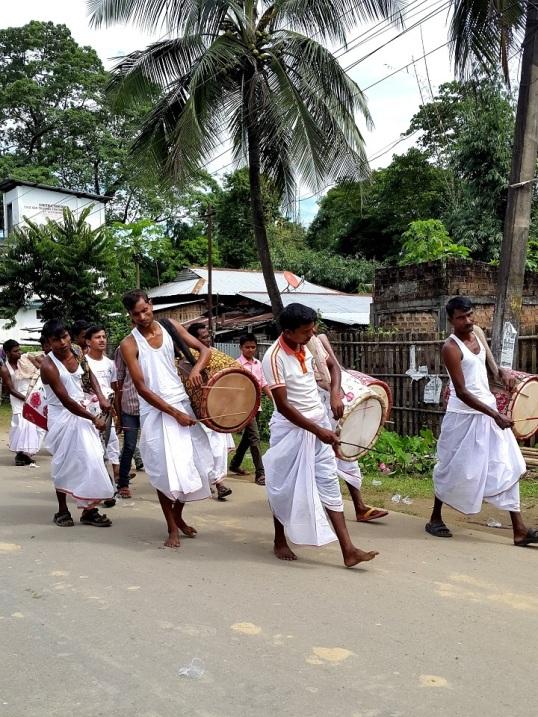 Silchar durga procession 5