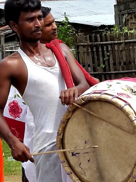 Silchar durga procession 6